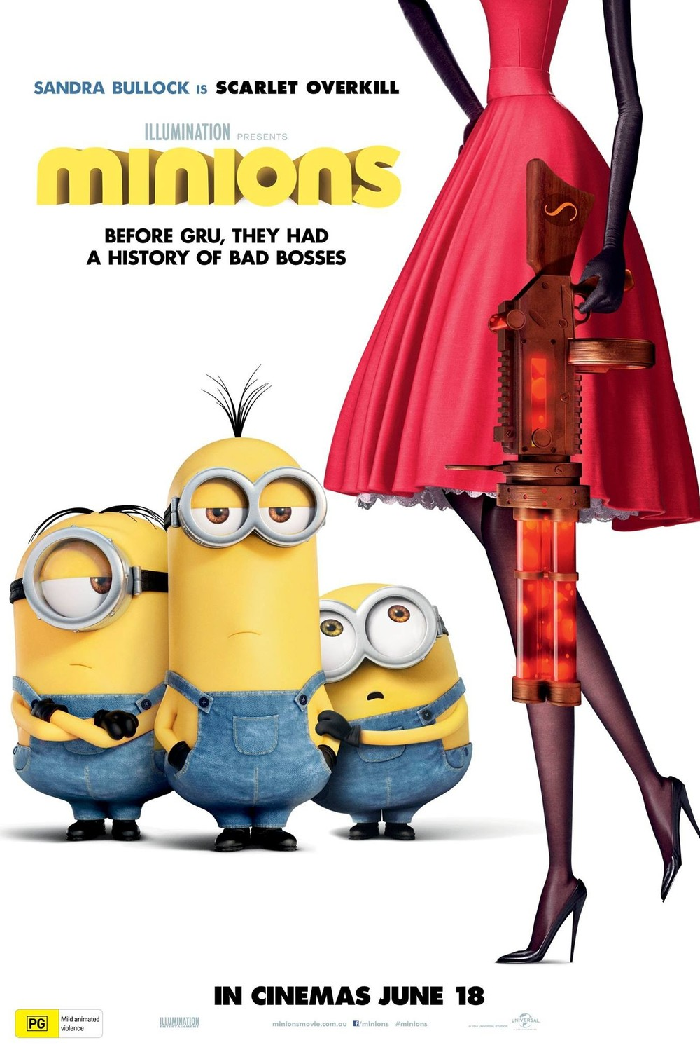 Minions movie release date