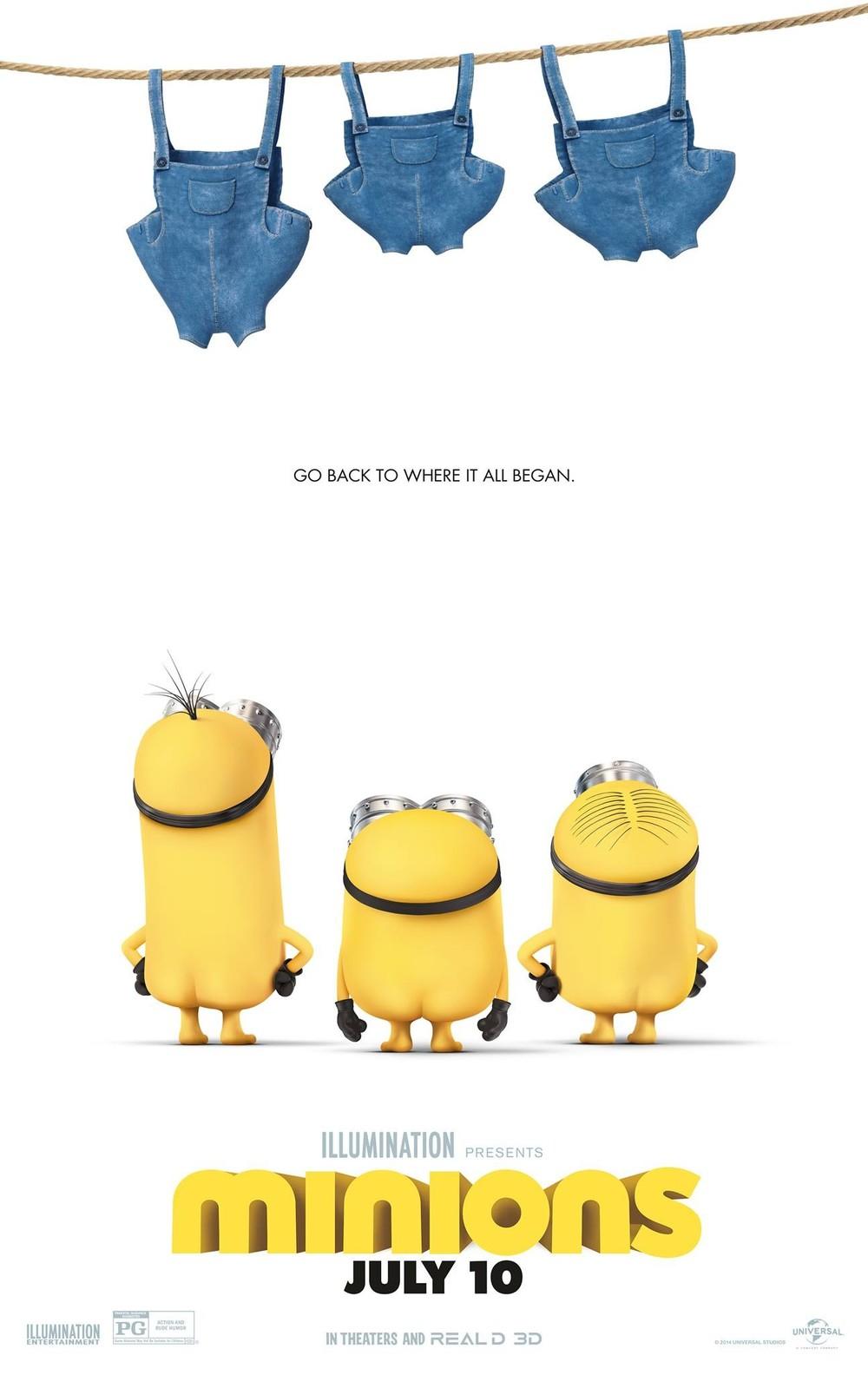 Calendar Posters 2015 : Minions dvd release date redbox netflix itunes amazon