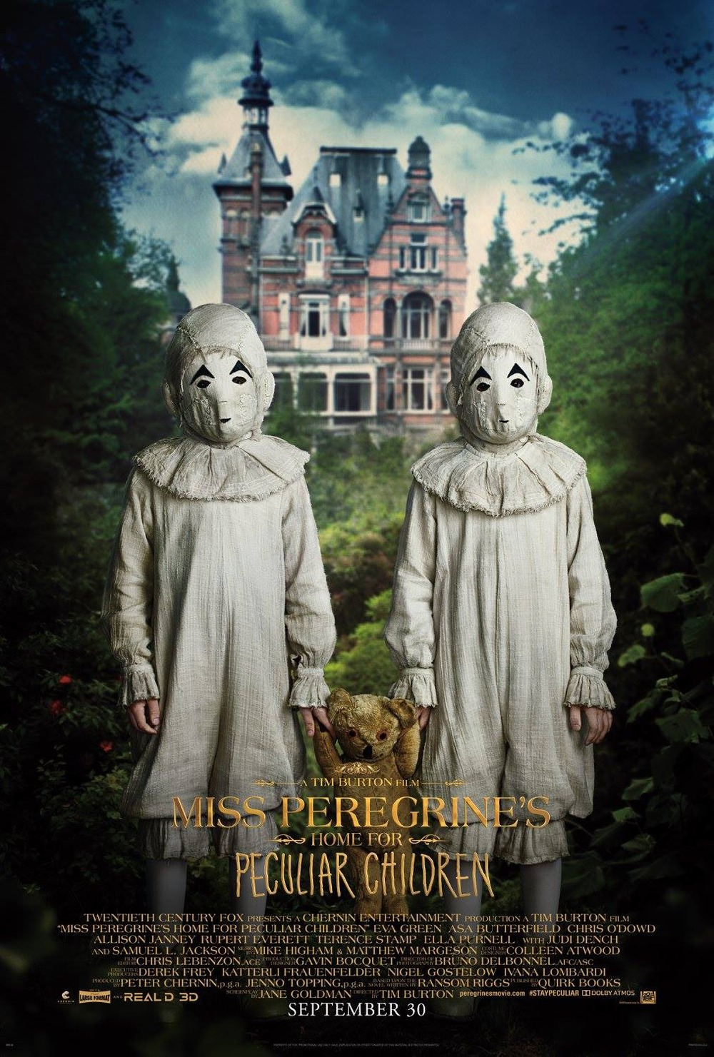 Miss Peregrine S Home For Peculiar Children Dvd Release Date