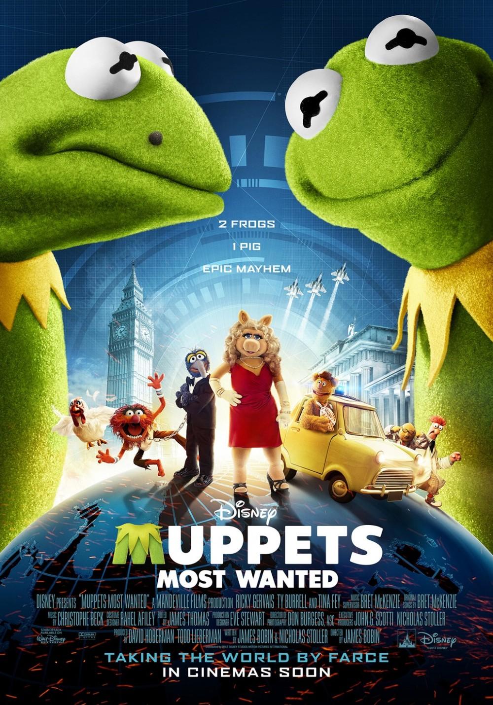 Muppets Most Wanted DVD Release Date | Redbox, Netflix ...