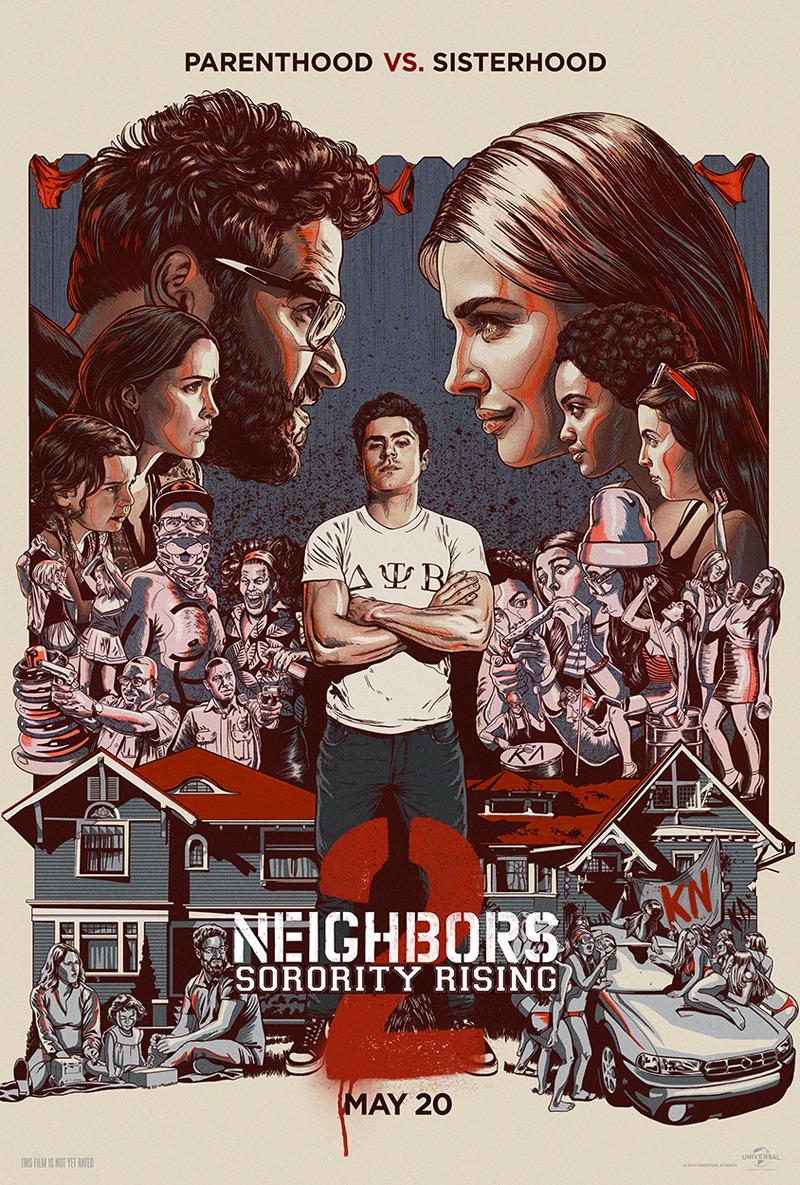 Bad Neighbors 3: Zombies Rising