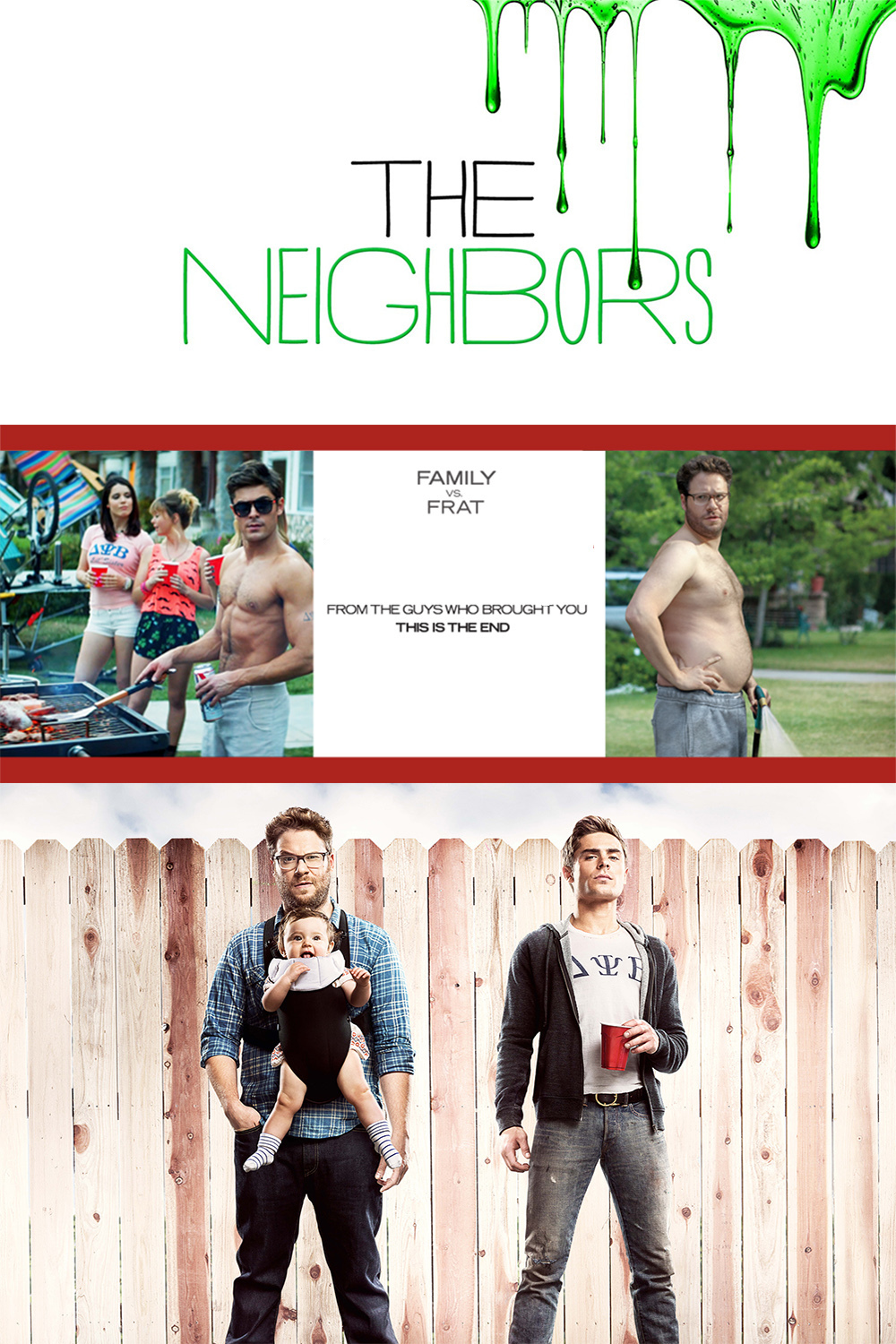 The neighbors dvd release date in Perth