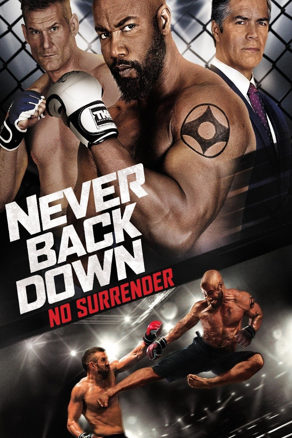 never back down no surrender dvd release date redbox
