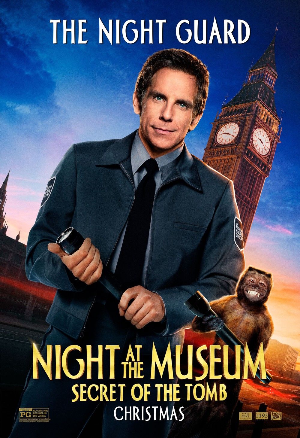 Night At The Museum 3: Secret Of The Tomb DVD Release Date ...