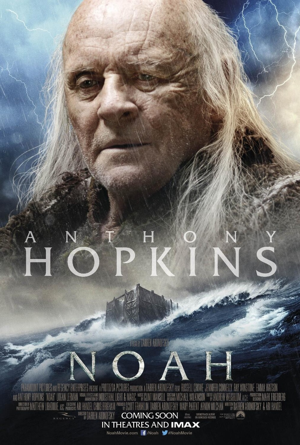 Noah DVD Release Date ... Anthony Hopkins