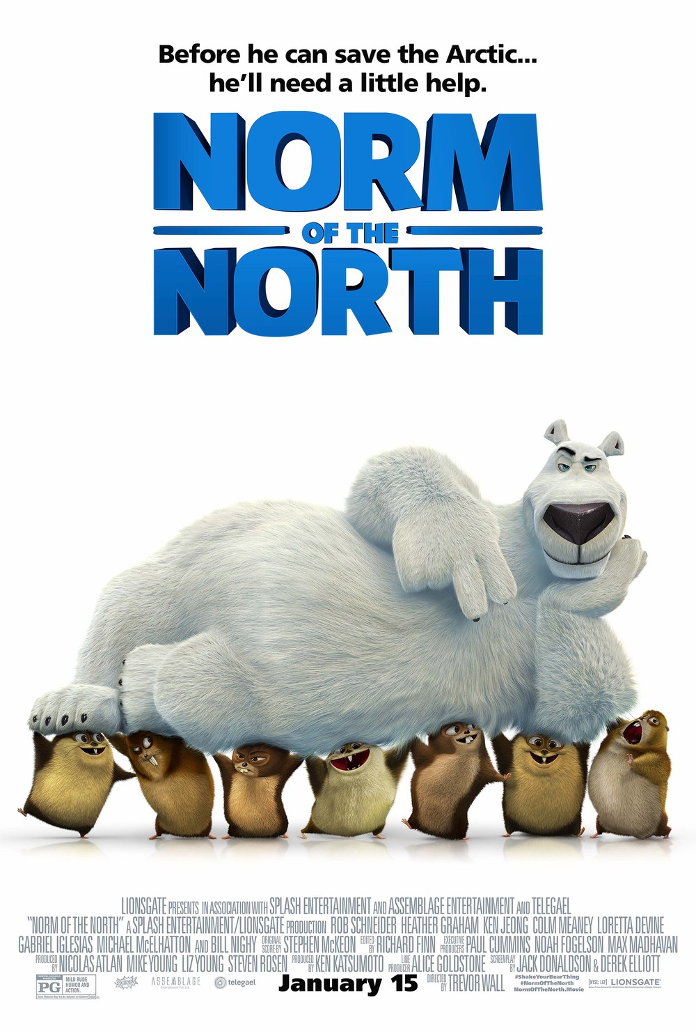 norm of the north dvd release date redbox netflix. Black Bedroom Furniture Sets. Home Design Ideas