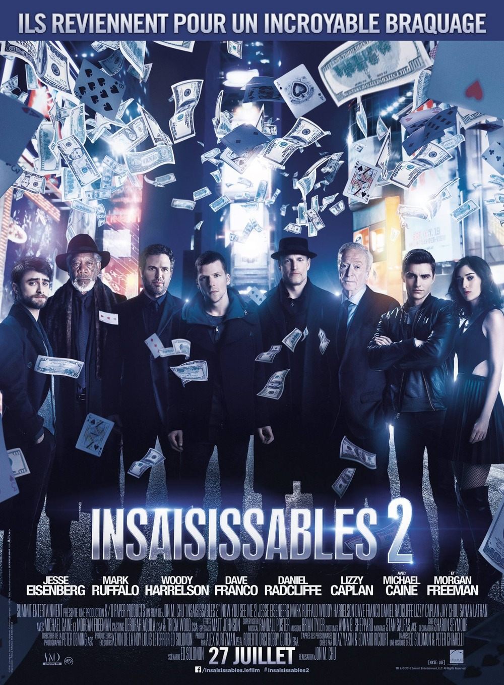 Now You See Me 2 UK Release Date Pushed to July, The Four Horsemen ...