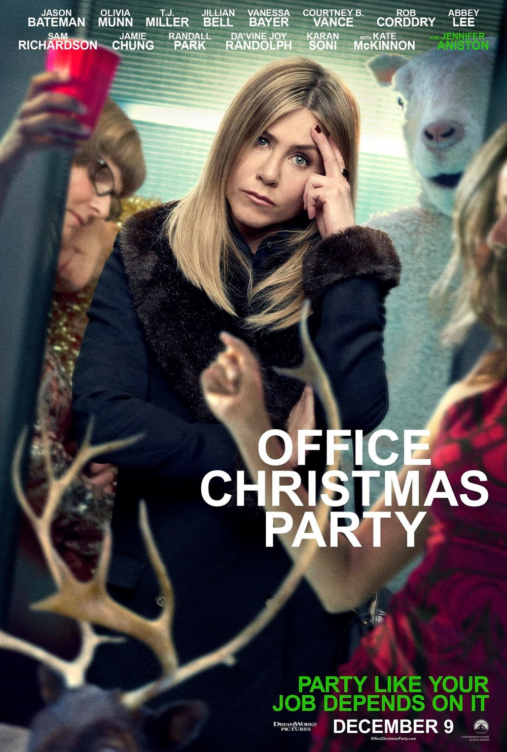 Office Christmas Party Film