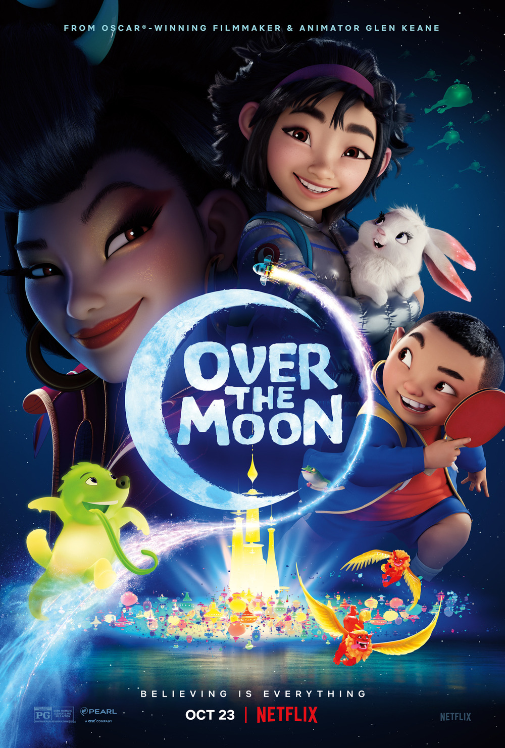 Over the Moon DVD Release Date | Redbox, Netflix, iTunes ...