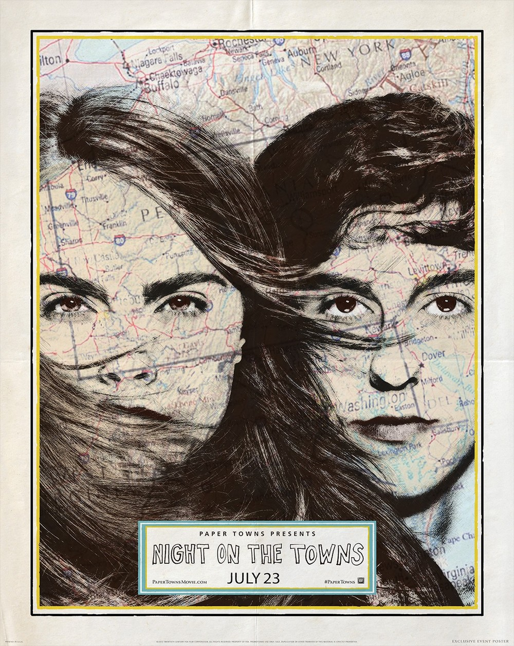 Paper Towns (2015) Movie Trailer, Release Date, Cast, Plot