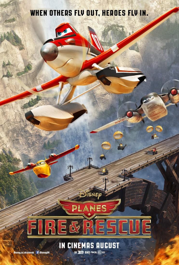 Planes: Fire & Rescue DVD Release Date | Redbox, Netflix ...