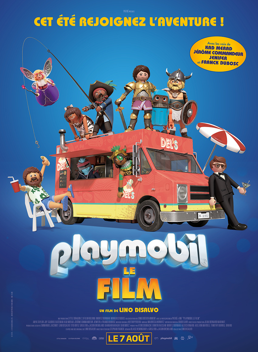 playmobil  the movie dvd release date