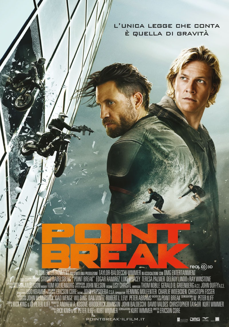 Point break release date in Sydney