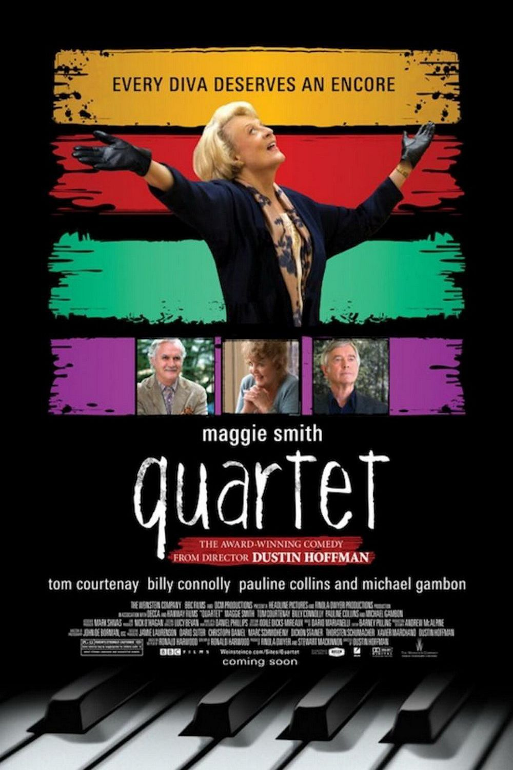 Quartet DVD Release Date | Redbox, Netflix, iTunes, Amazon