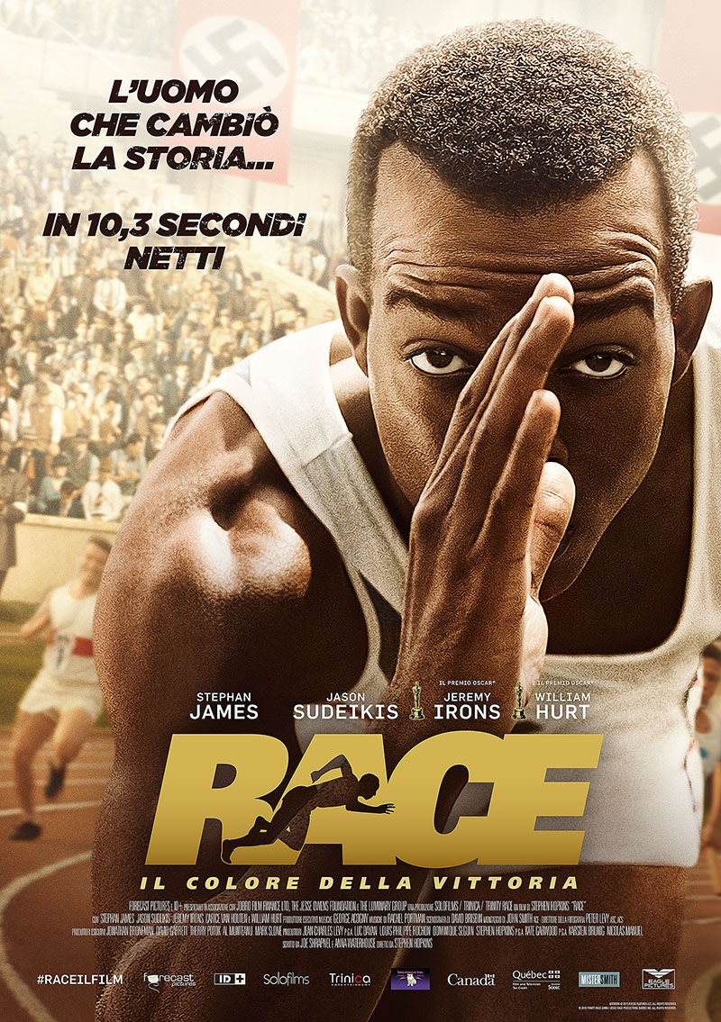 Race movie release date in Melbourne