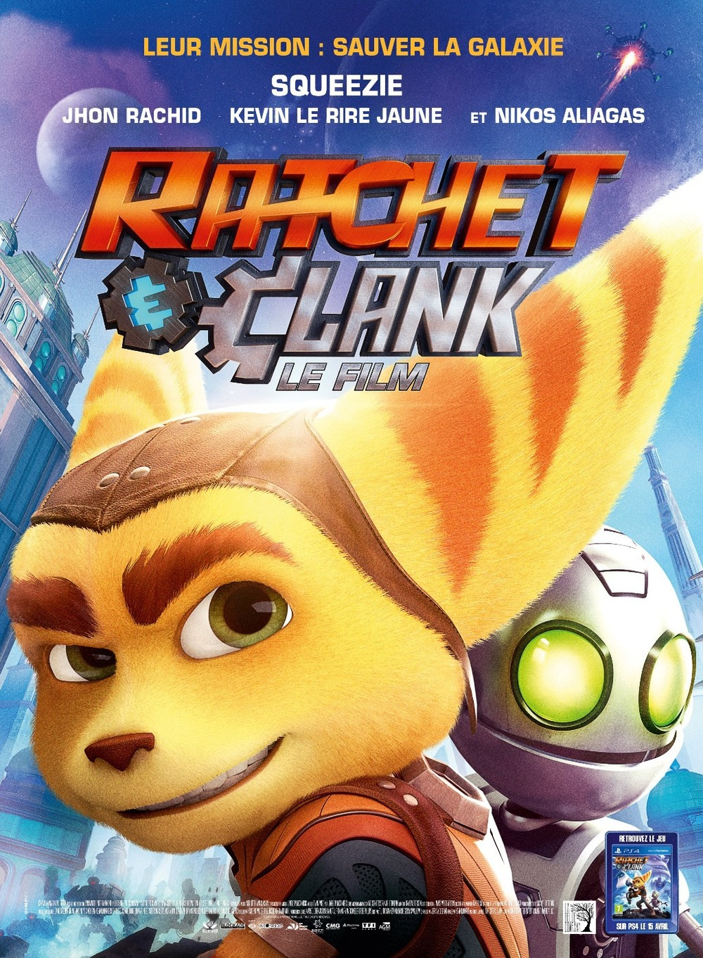 Ratchet And Clank PS4 Release Date And Box Art Revealed