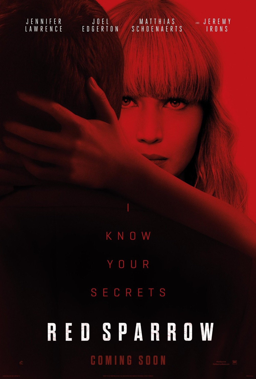 Red Sparrow DVD Release Date | Redbox, Netflix, iTunes, Amazon