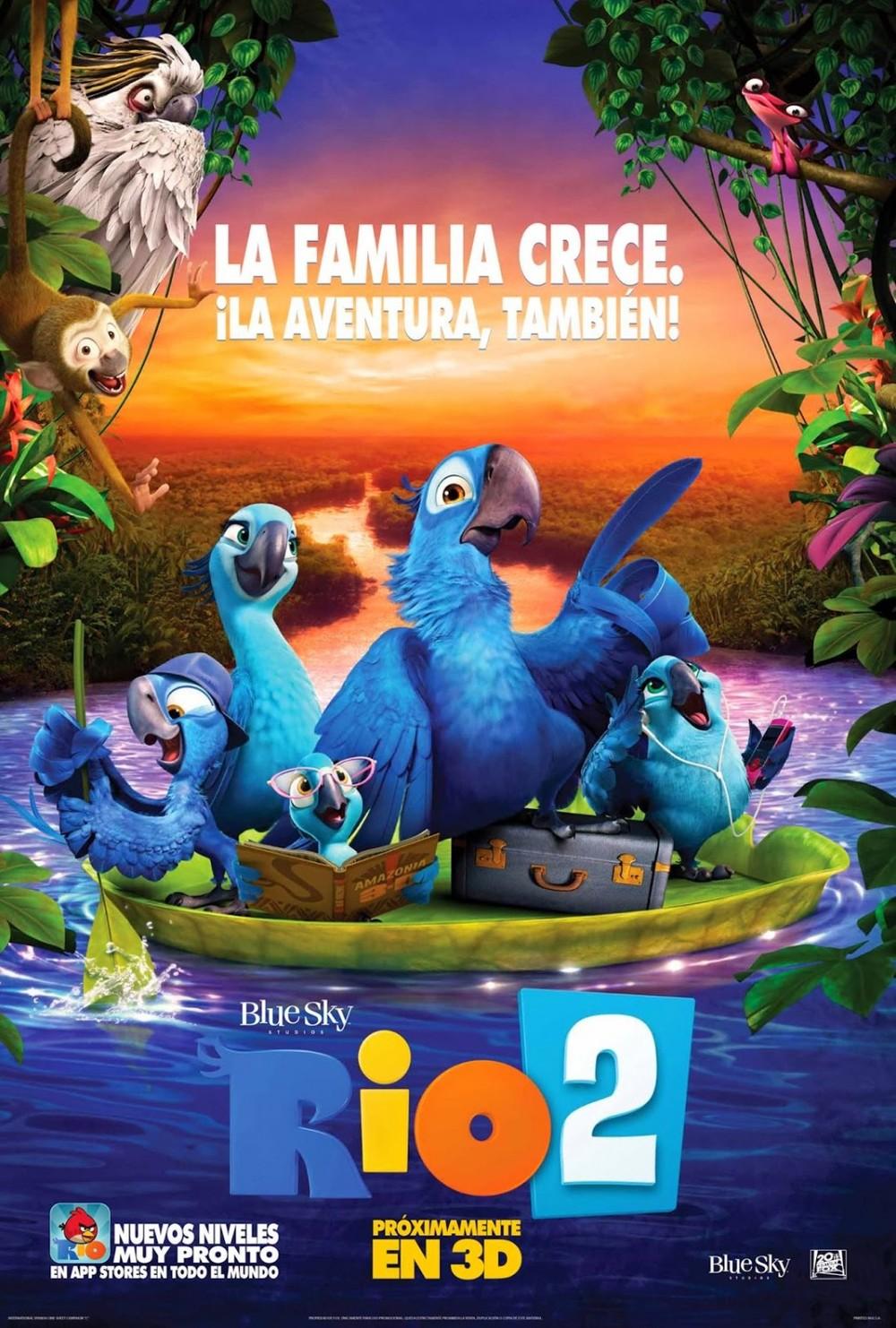 Rio 2 DVD Release Date Redbox Netflix iTunes Amazon