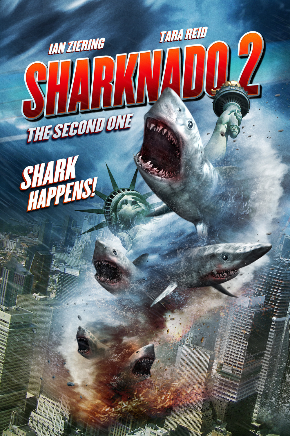 The Second Generation Of Supermodel Is Here Cindy: Sharknado 2: The Second One DVD Release Date