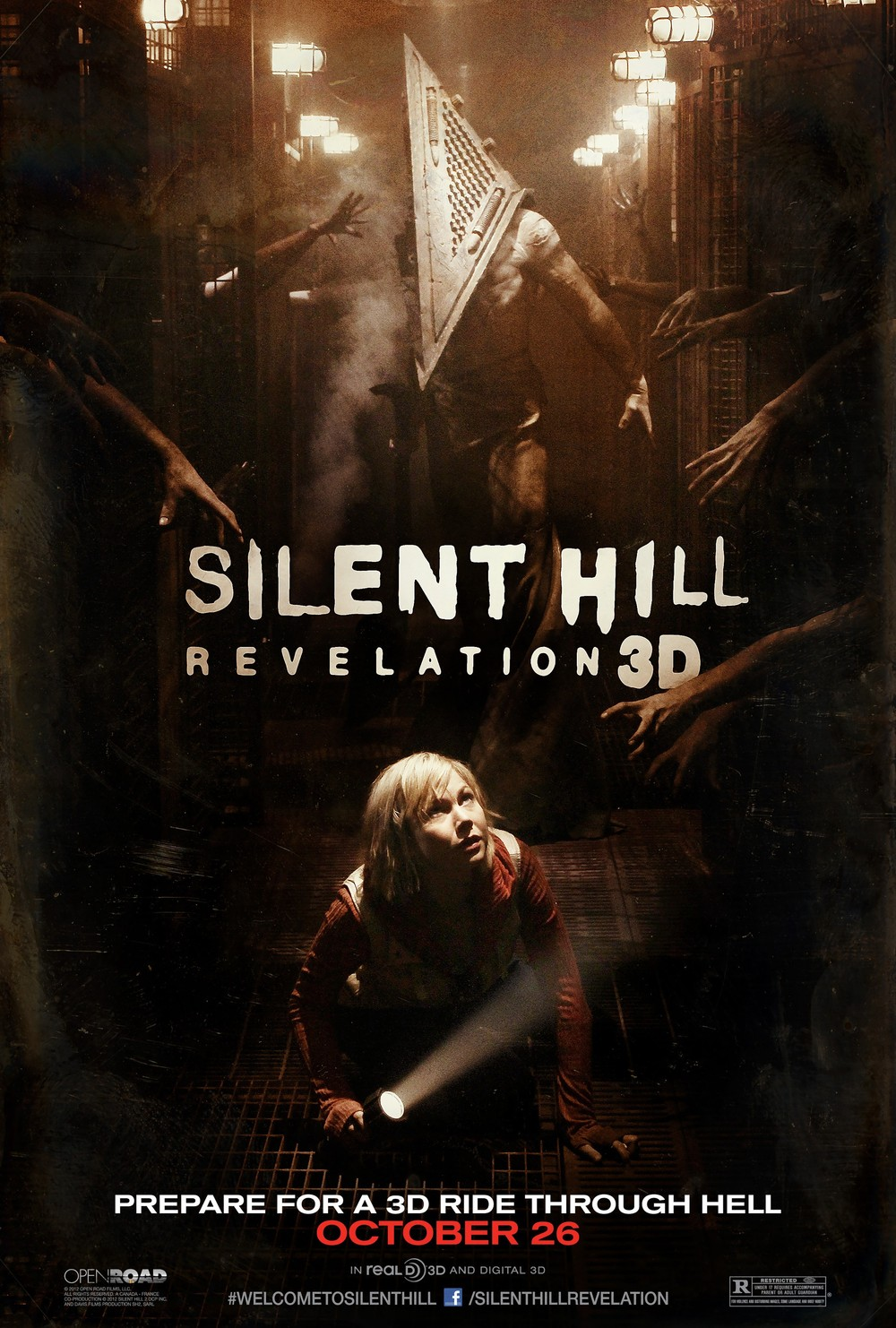 Vote for your favorite 'Silent Hill' poster | Adweek |Silent Hill Movie Poster