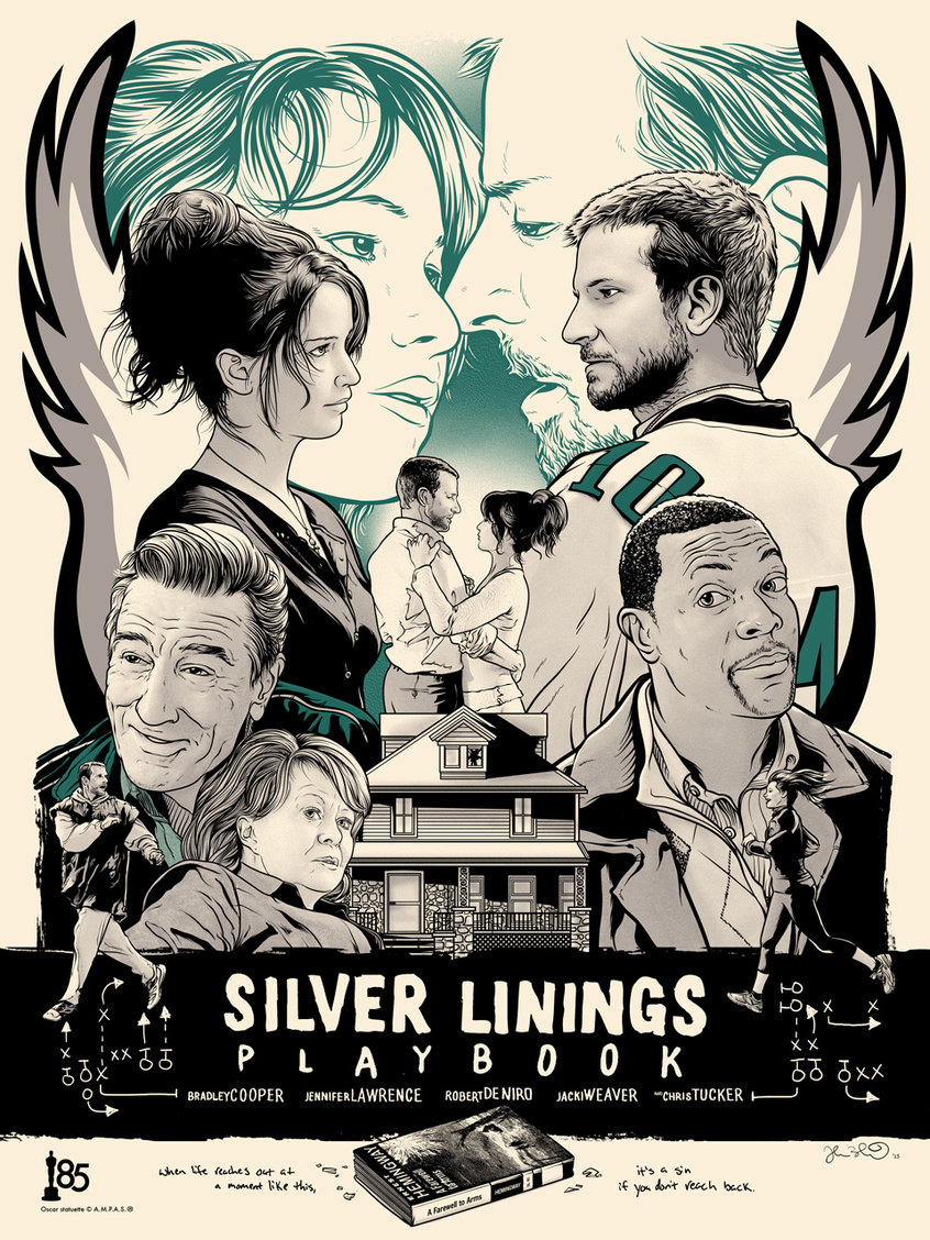 How pat and tiffany aid in each others recovery in silver linings playbook