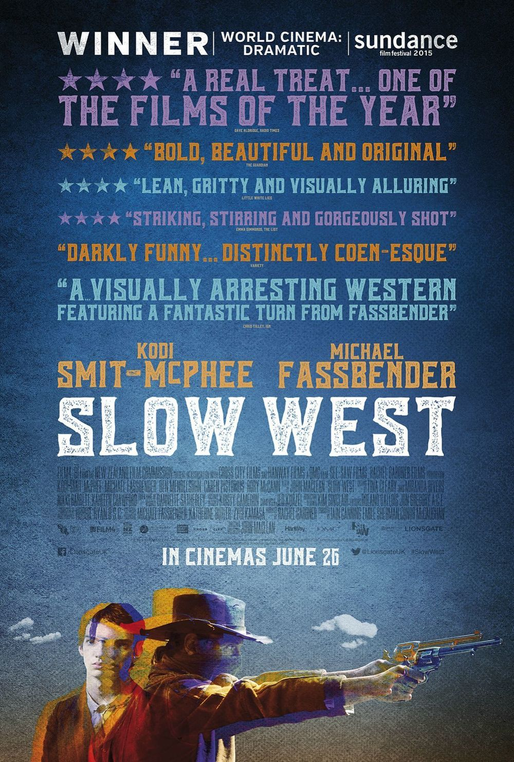 Slow West (2015) Movie Review - ComingSoon.net