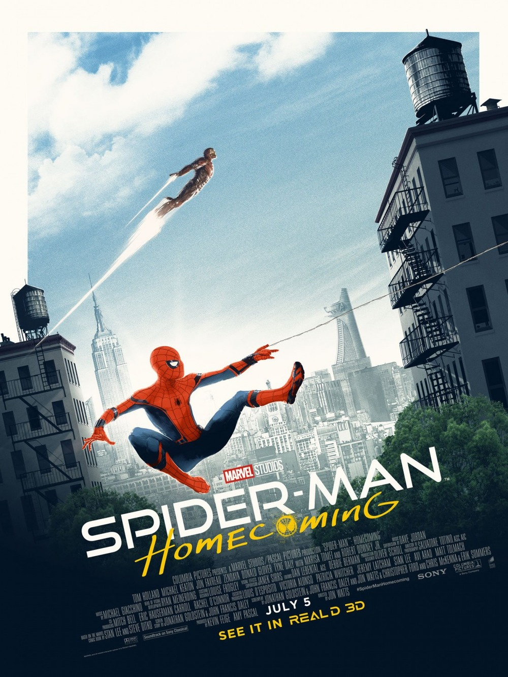 Spider Man Homecoming Release