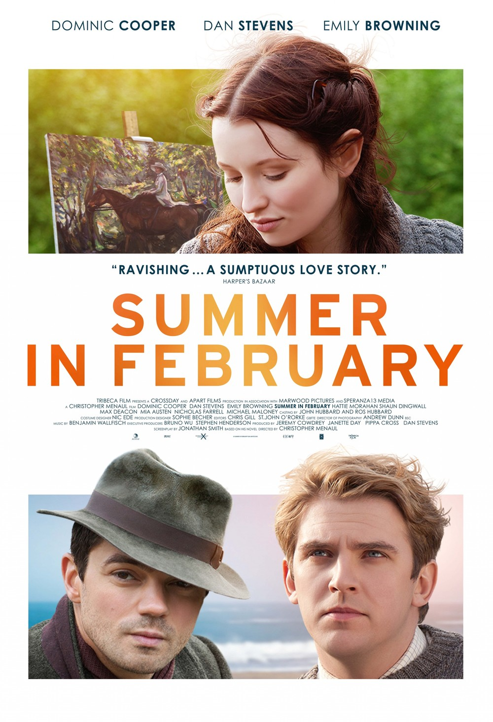 Summer in February DVD Release Date August 12, 2014