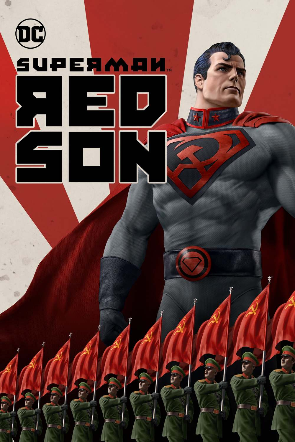 Image result for red son poster superman