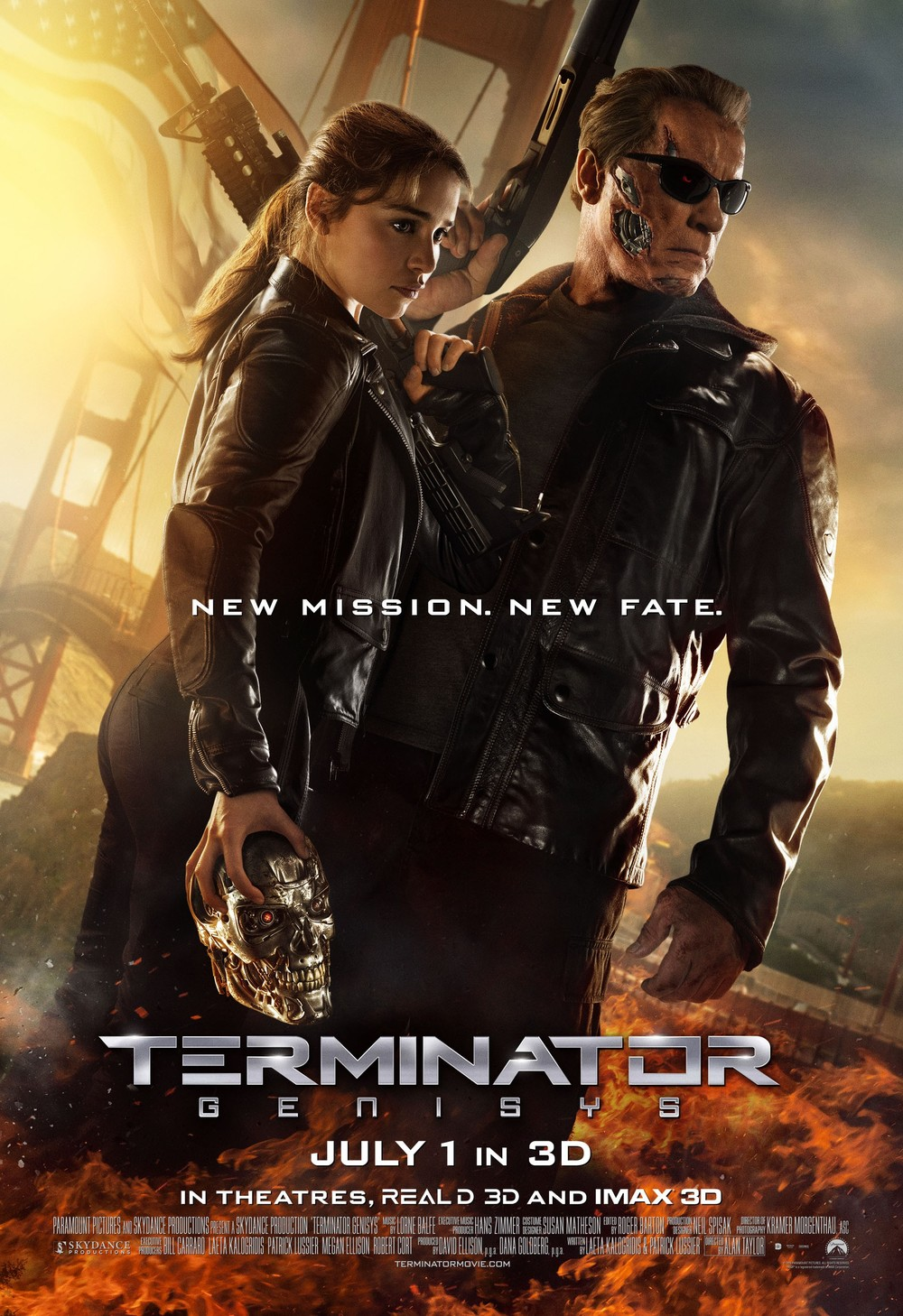 Terminator Genisys Blu-ray 3D, DVD and Digital Release Dates and ...