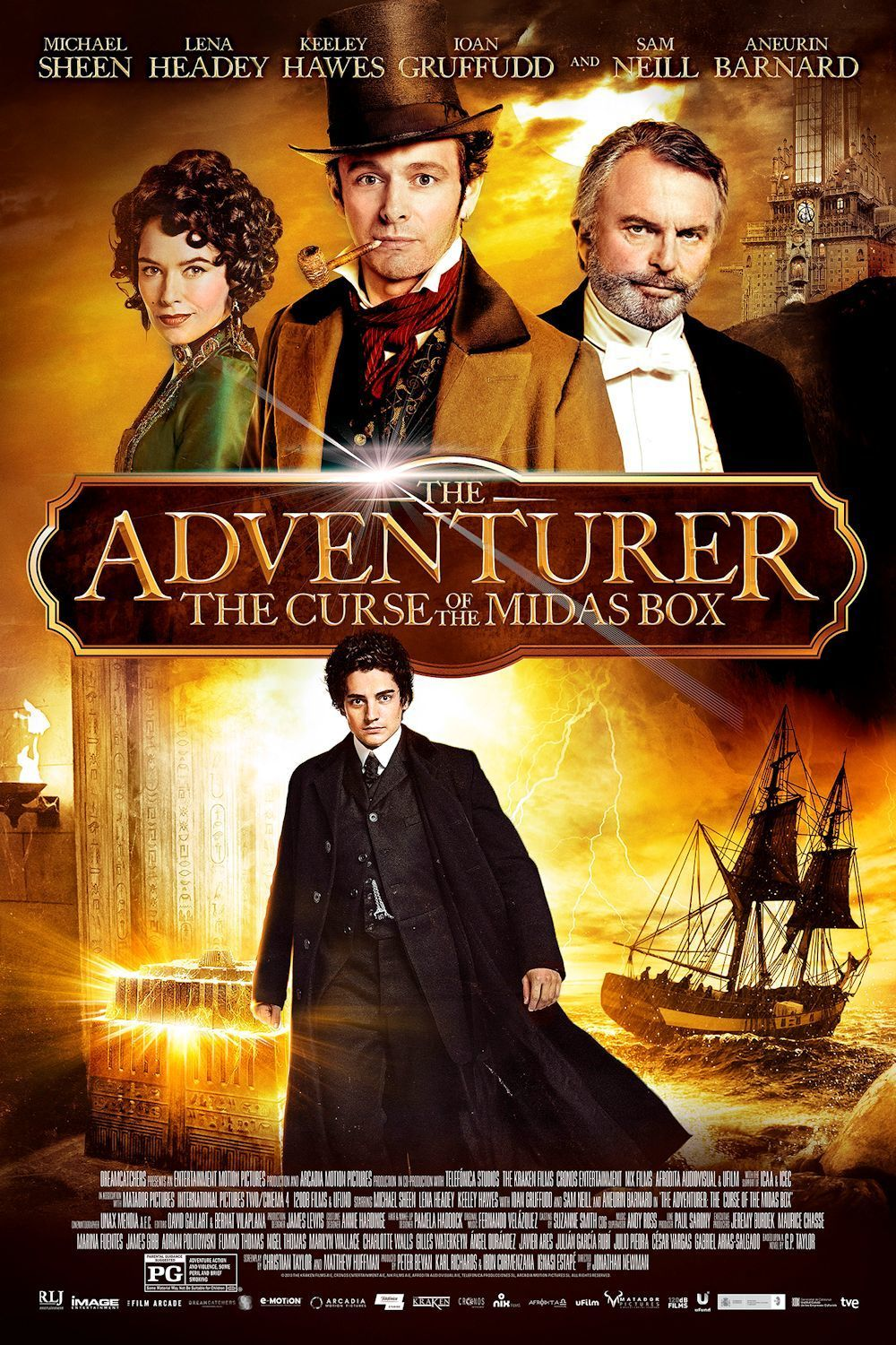 The Adventurer: The Curse of the Midas Box DVD Release ...
