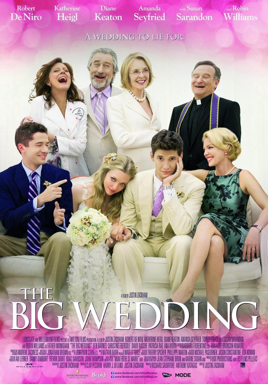 The Big Wedding DVD Re...