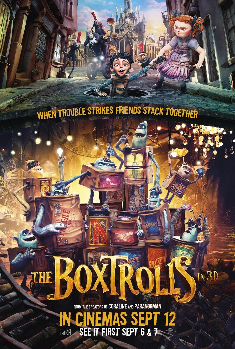 The Boxtrolls DVD Release Date | Redbox, Netflix, iTunes ...