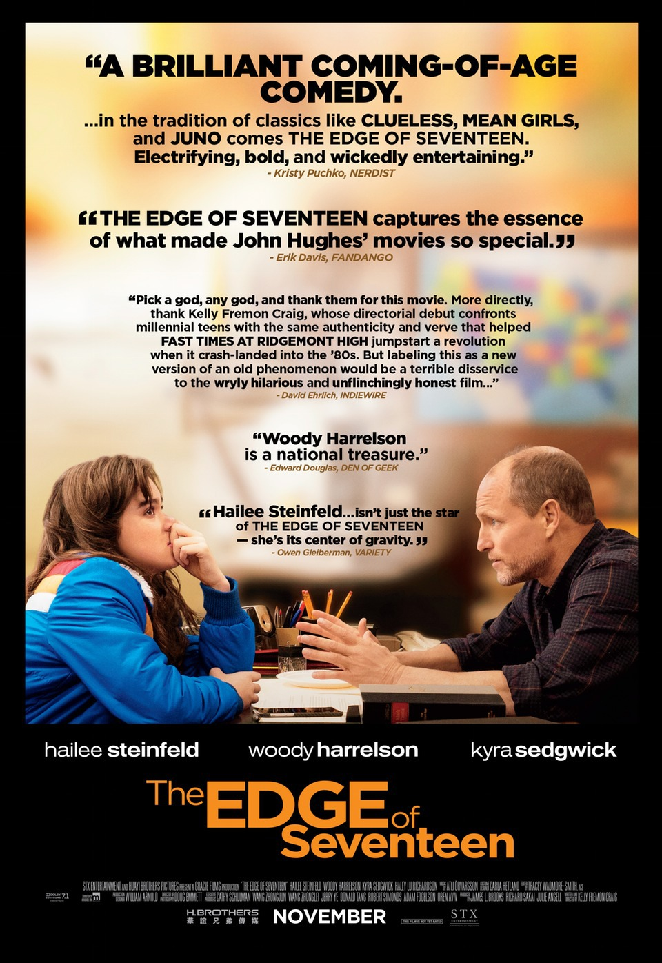 The Edge Of Seventeen Trailer German