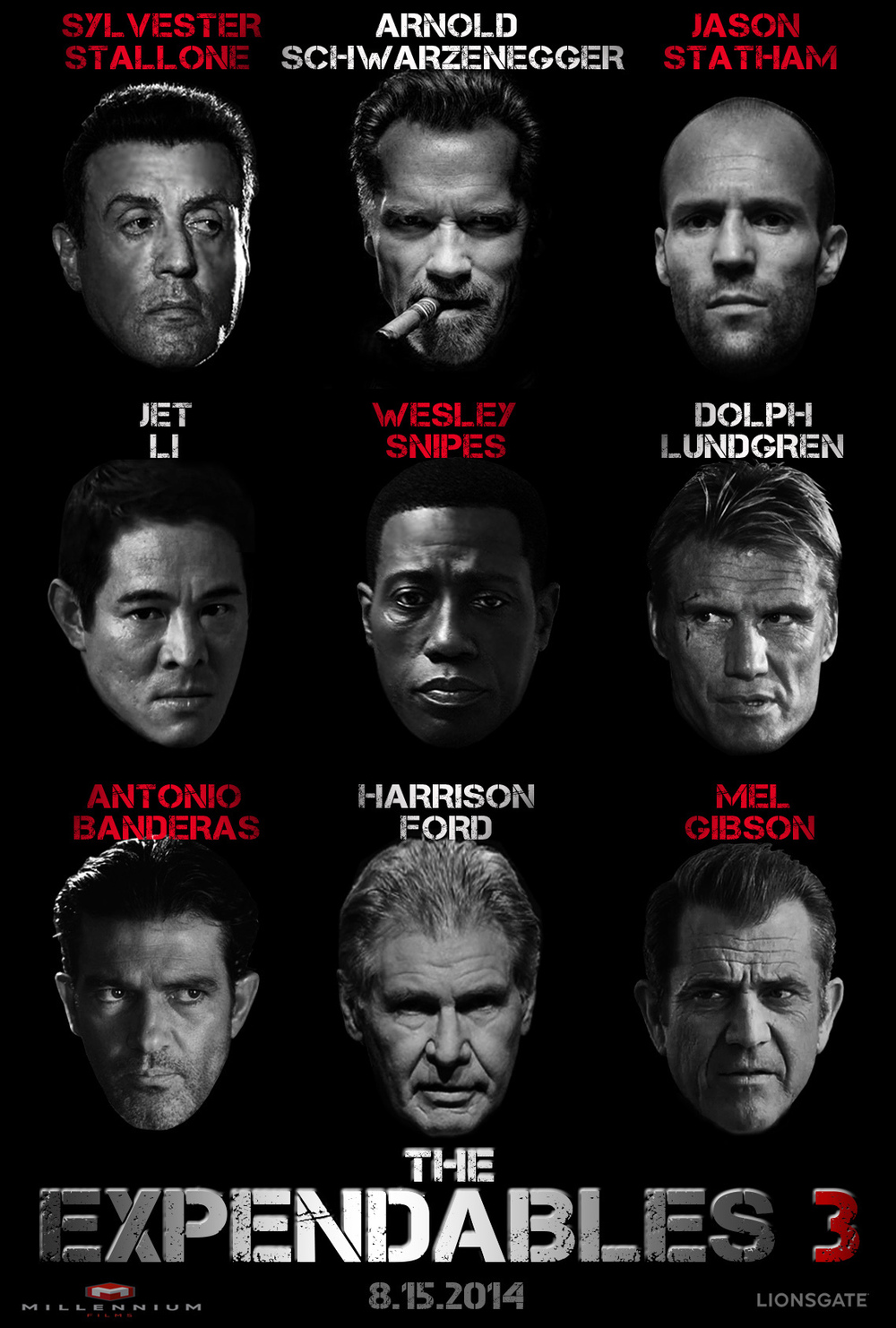 The Expendables 3 DVD Release Date   Redbox, Netflix ...