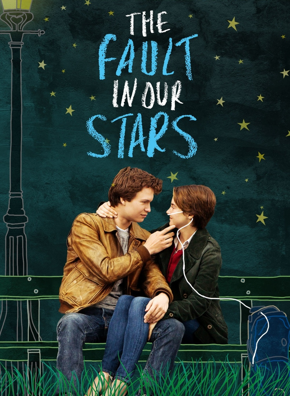 "fault our star Though it's correctly categorized as a teen romance, ""the fault in our stars"" is above all a movie about cancer cancer provides the butt of the film's most caustic jokes, provides the magnetic pull that first draws its star-crossed couple together, and provides the power with which the story eventually starts to squeeze its viewers."