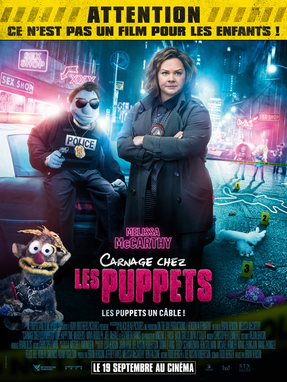 The New French Teenage Fashion Collection Une Fille From: The Happytime Murders DVD Release Date