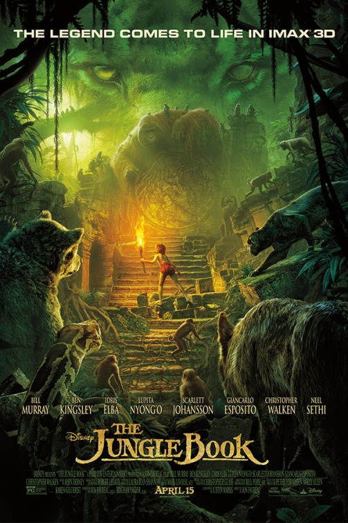 The jungle book movie release date in Brisbane