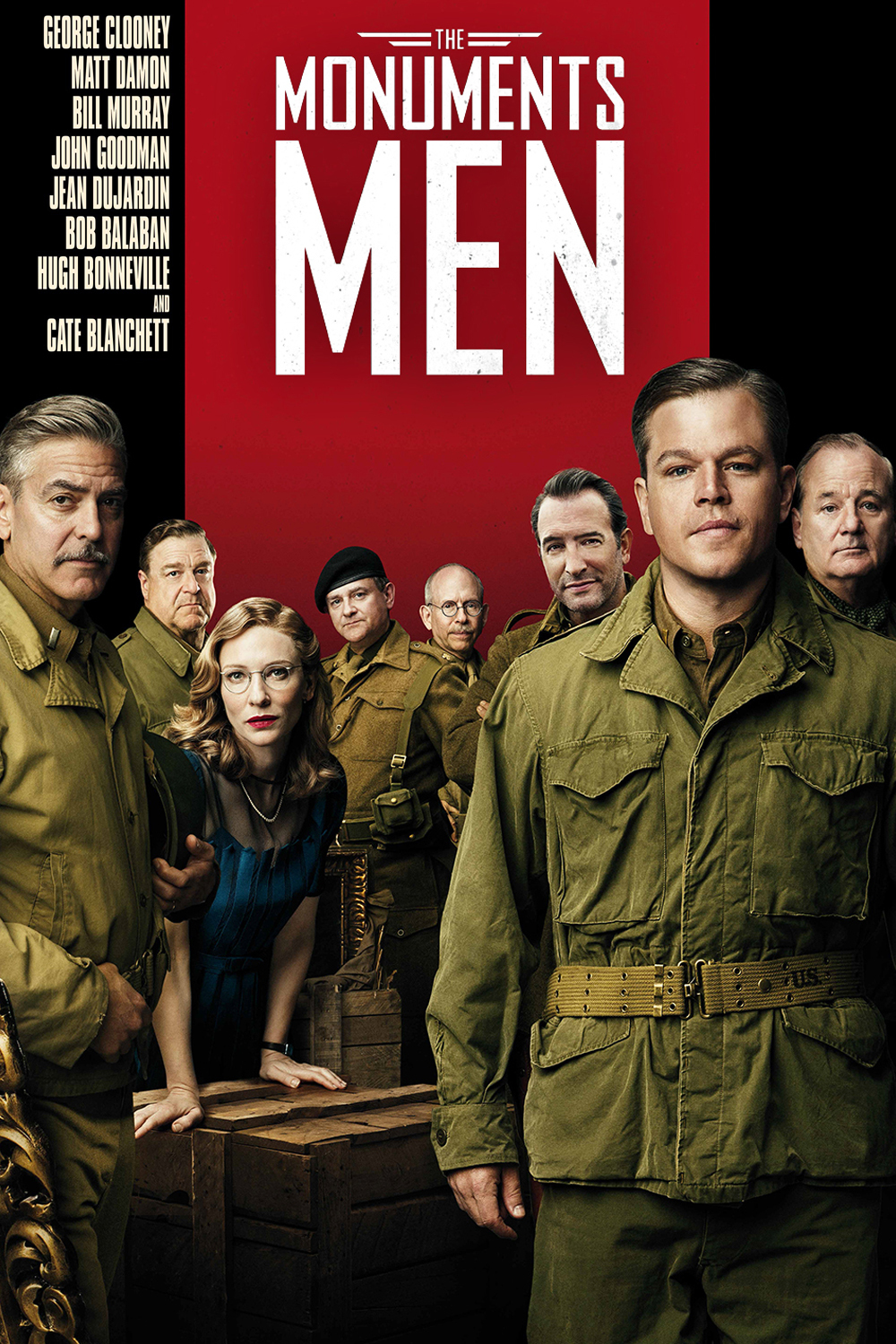 The Monuments Men Post...