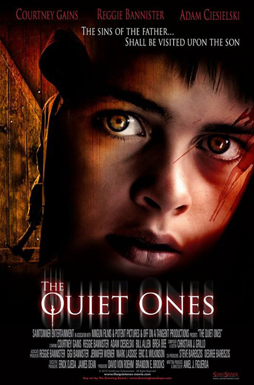 Quiet ones pos  Quiet Ones Movie Poster