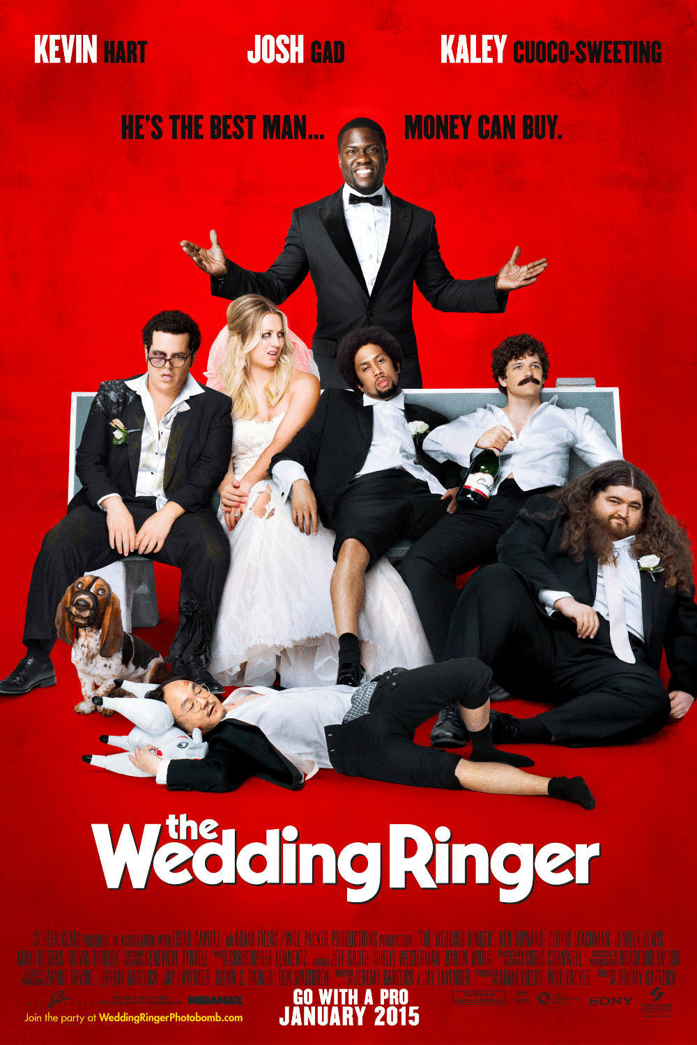 when is wedding ringer on redbox