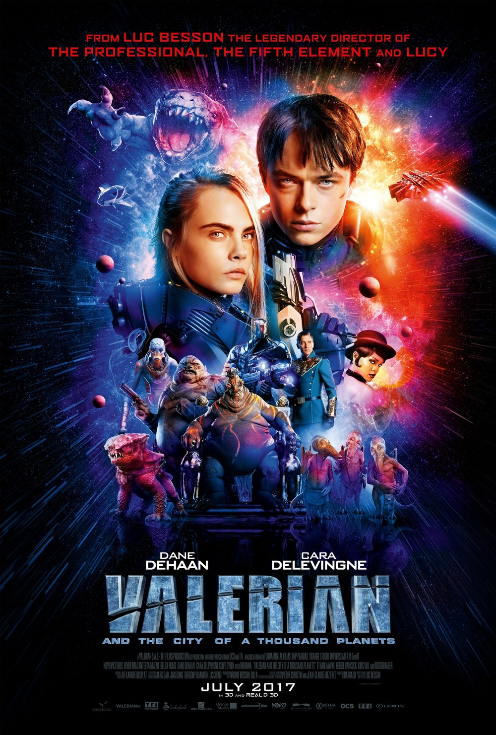 Valerian And The City Of A Thousand Planets Dvd Release