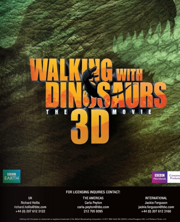 Walking With Dinosaurs DVD Release Date