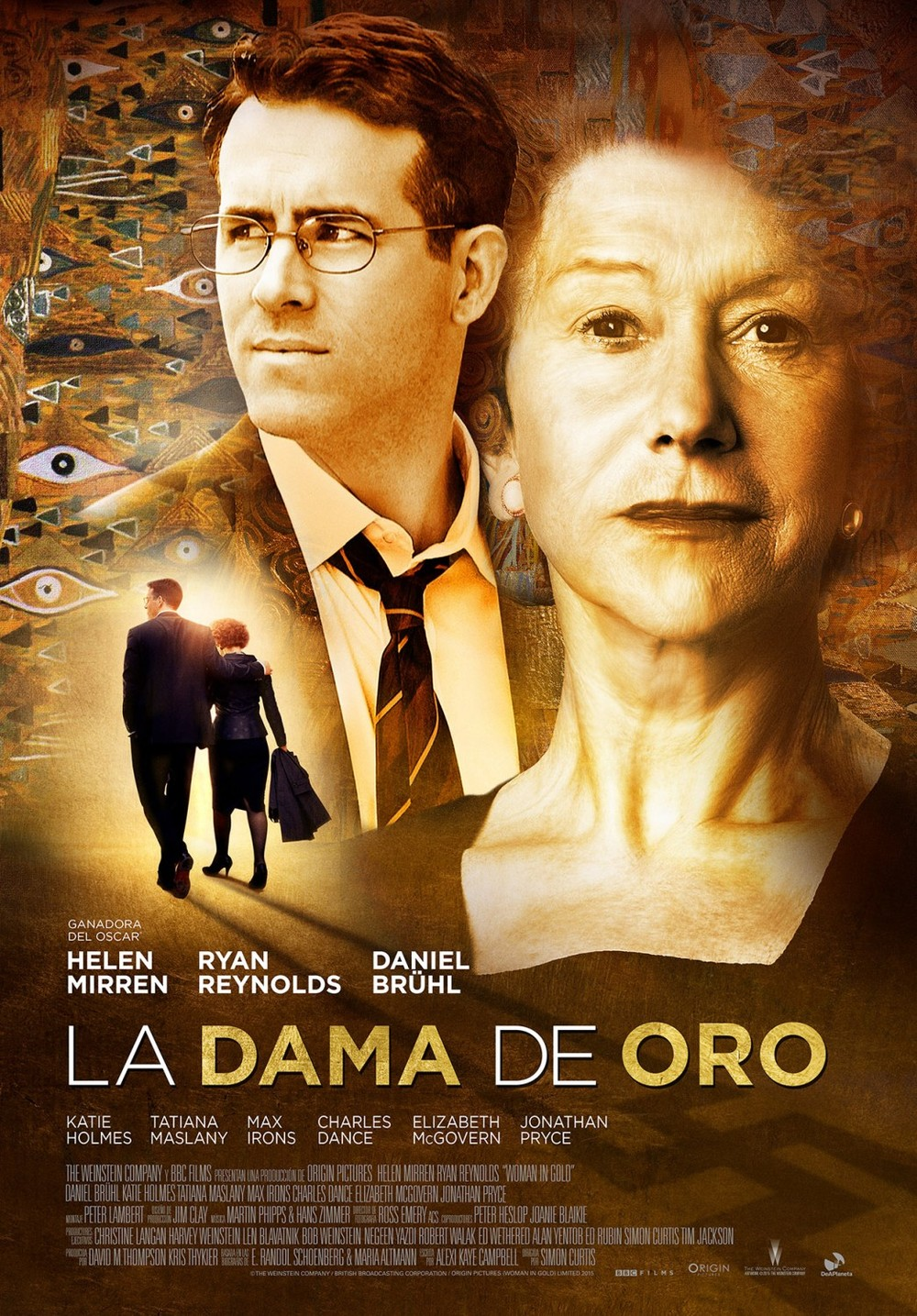 woman in gold stream