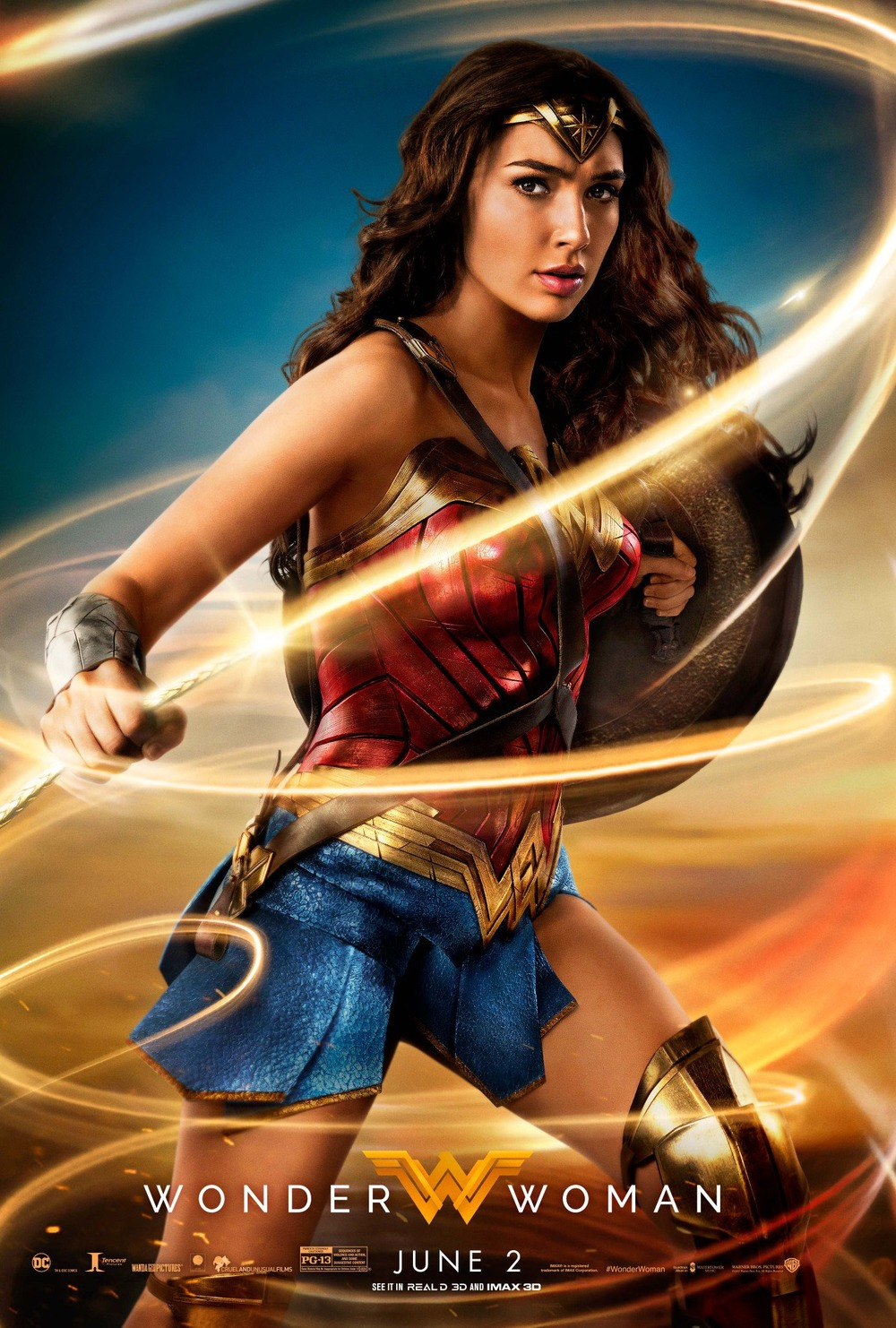 It's just a photo of Nifty A Picture of Wonder Woman