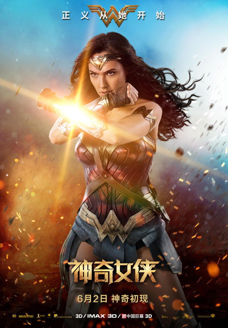 It's just a picture of Clean A Picture of Wonder Woman