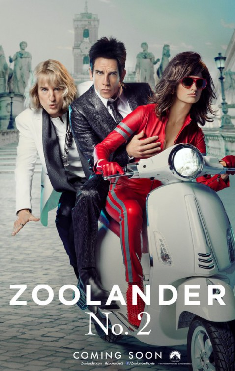 Zoolander release date in Australia