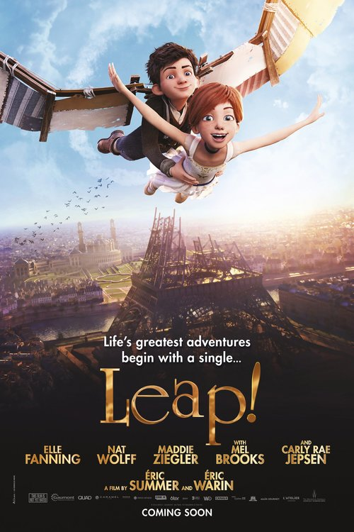Leap! poster