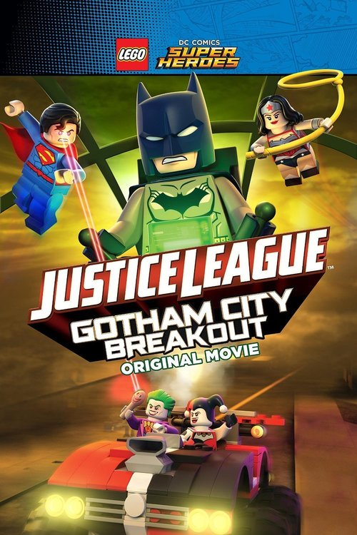 Lego DC Comics Superheroes: Justice League - Gotham City Breakout poster