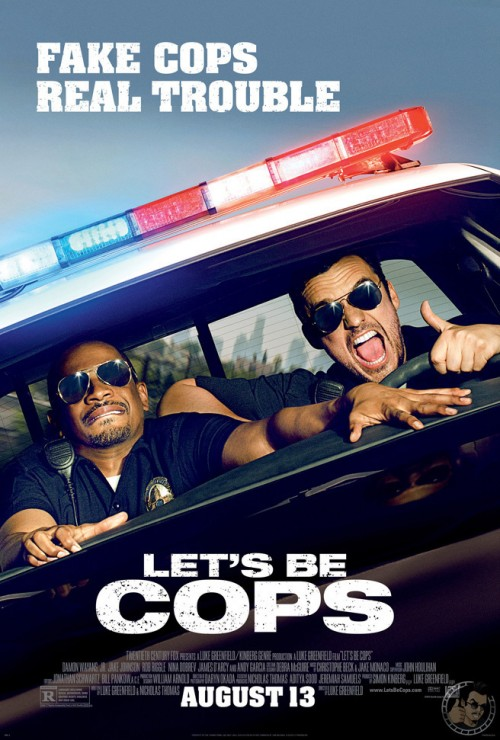 Let's Be Cops poster